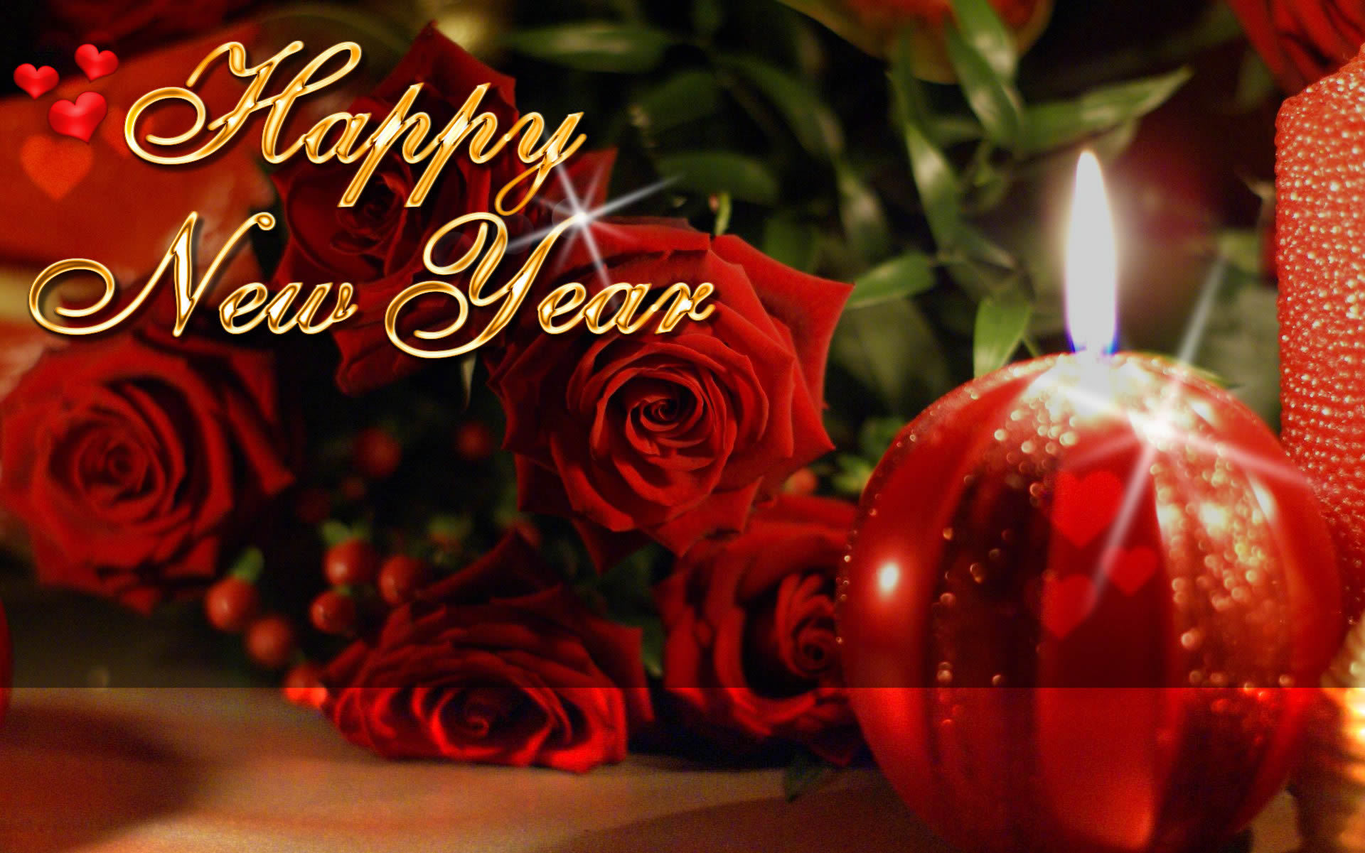 Wish you all a happy new year with a tender and romantic night of love