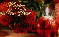 Happy new year ecard wallpaper