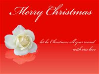 Merry Christmas Printable Ecard