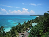 Boracay top hill view