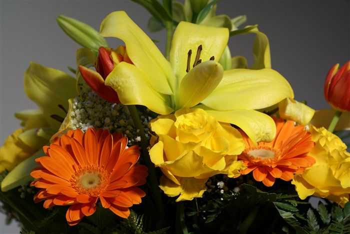 flower bouquet photo