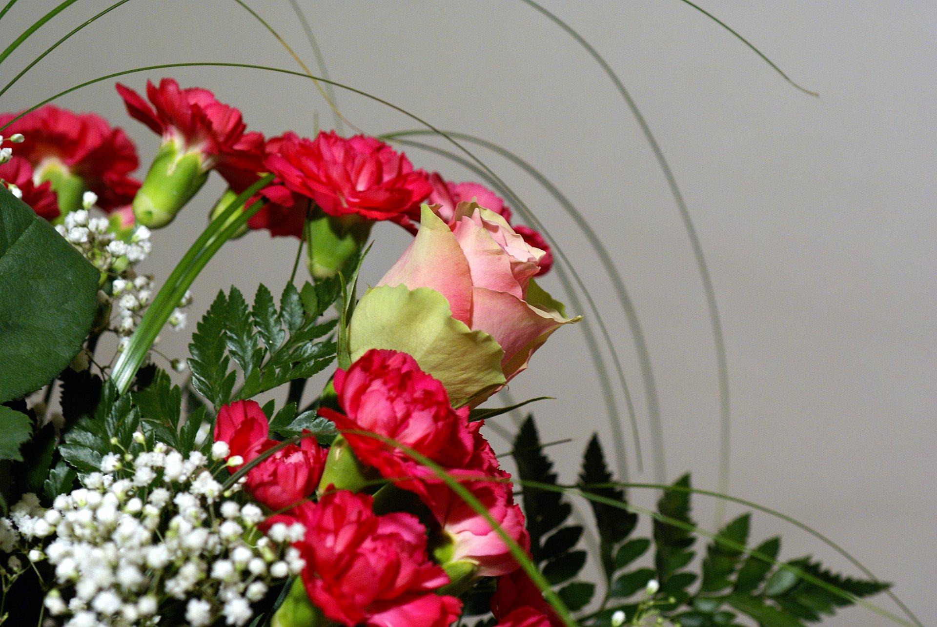 Bouquets De La Fleur Photo De La Composition De La Fleur Et Papiers