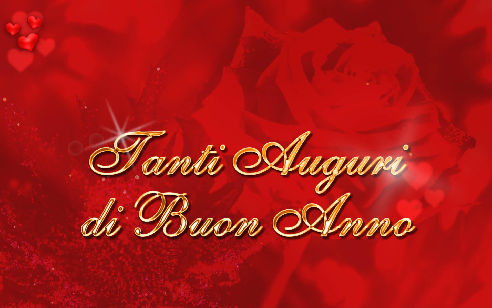 Cartoline Auguri Buon Anno Tanti Auguri di Buon Anno
